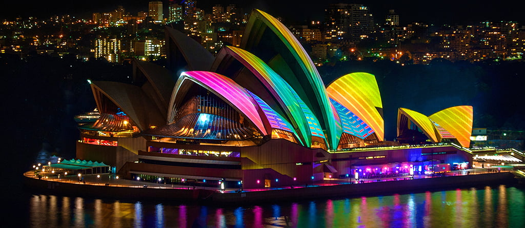Spectacular Vivid Sydney Cruises To Look Out For In 2021