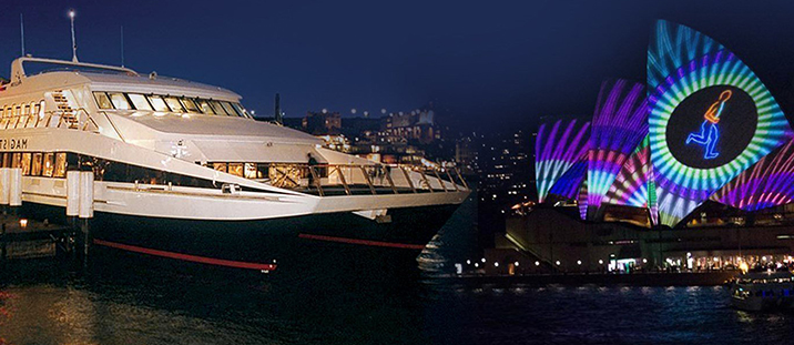Vivid Sydney Magistic 3-Hour Buffet Dinner Cruise