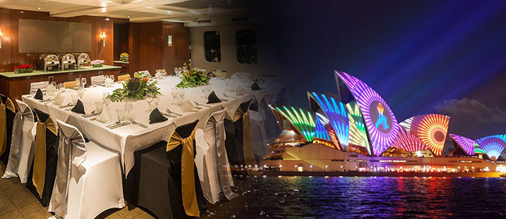 Vivid Magistic Vip Top Deck Buffet Dinner Cruise